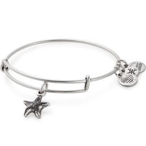 alex and ani starfish charm bracelet