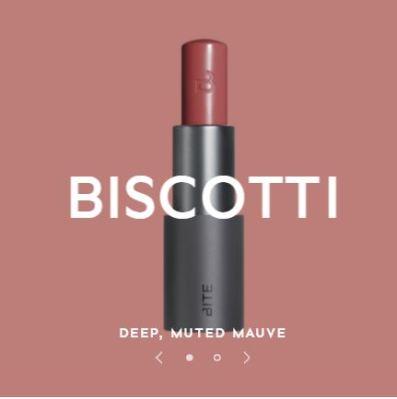 biscotti lipstick from bite beauty