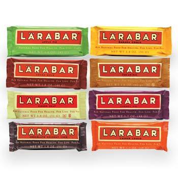 lara bars on display